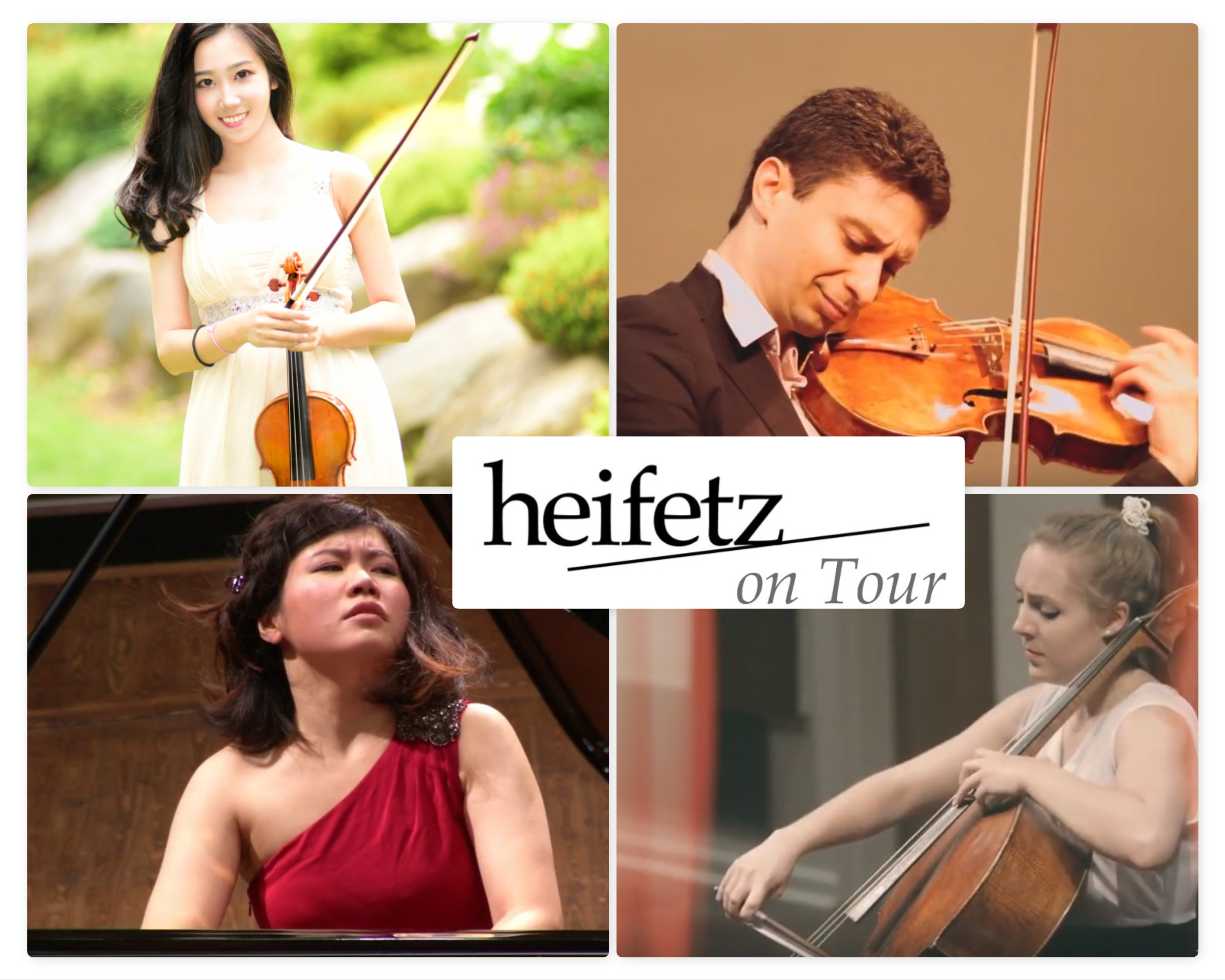 Heifetz on Tour for October 2018 10 x 8